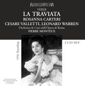 Verdi: La Traviata (1956) de Rosanna Carteri