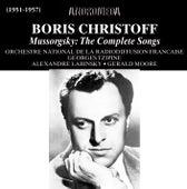 Mussorgsky: The Complete Songs de Boris Christoff