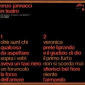Enzo Jannacci in teatro - Dallo spettacolo 22 canzoni a cura di Dario Fo di Enzo Jannacci