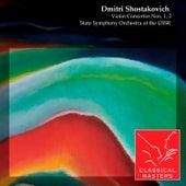 Violin Concertos Nos. 1, 2 by Victor Tretyakov