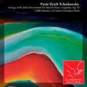 Liturgy of St. John Chrysostom for Mixed Choir a cappella, Op. 41 by Various Artists