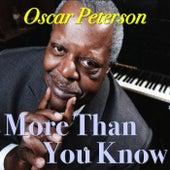 More Than You Know de Oscar Peterson