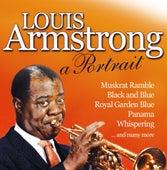 Louis Armstrong - A Portrait von Louis Armstrong