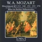 Mozart: Divertimenti, K. 213, 240, 252, 253 & 270 de Berliner Philharmoniker