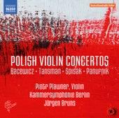 Polish Violin Concertos de Piotr Plawner