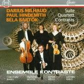 Milhaud, Hindemith, Bartok by Ensemble Kontraste