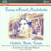 Fanny Hensel-Mendelssohn: Chorlieder, Duette, Terzette by Willi Gundlach Kammerchor der Universität Dortmund