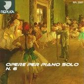 Opere per piano solo No. 6 de Various Artists