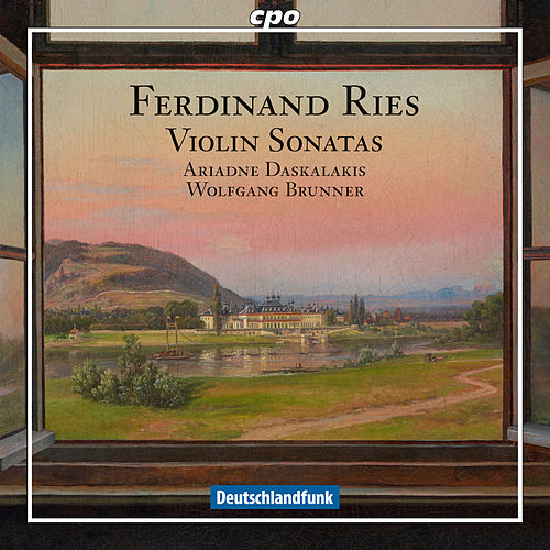 Ries: Violin Sonatas by Ariadne Daskalakis