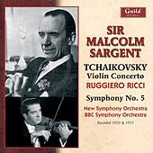 Tchaikovsky: Violin Concerto, Op. 35 & Symphony No. 5, Op. 64 von Various Artists