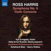 Ross Harris: Symphony No. 5 & Violin Concerto No. 1 de Various Artists