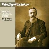 Rimsky-Korsakov: Famous Classical Works, Vol. XXI by Orchestre De La Société Des Concerts Du Conservatoire