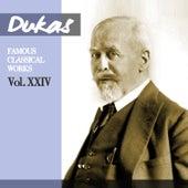 Dukas - Glinka - Chabrier: Famous Classical Works, Vol. XXIV by Orchestre De La Société Des Concerts Du Conservatoire