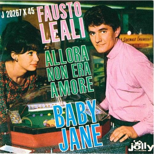 Allora non era amore - Baby Jane von Fausto Leali