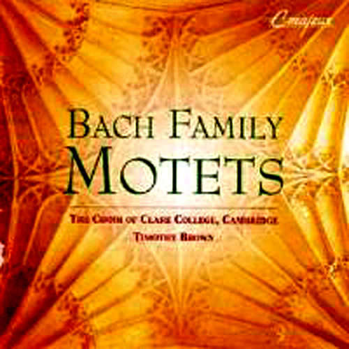 Bach Family Motets by Various Artists