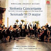 Sinfonia Concertante Serenade In D Major, Serenade In D Major For Orchestra, K. 203 by Various Artists