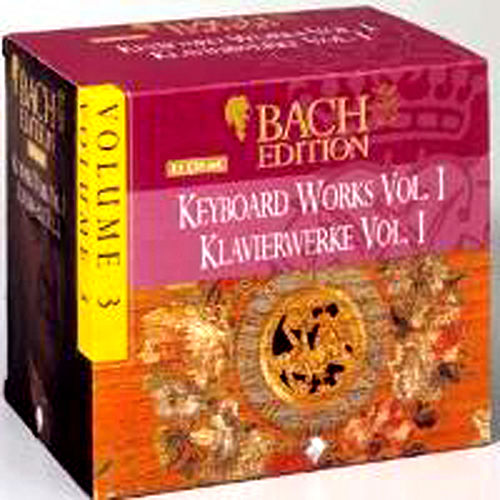 Bach Edition Vol. 3, Keyboard Works Vol. I Part: 9 by Various Artists