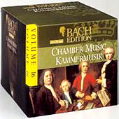 Bach Edition Vol. 16, Chamber Music Part: 1 by Mark Lubotsky