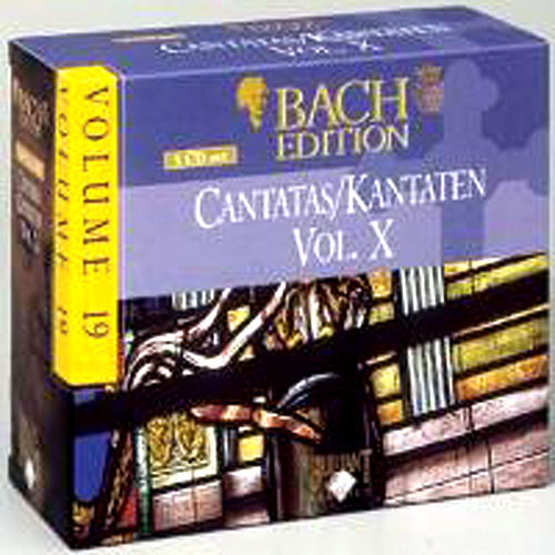 Bach Edition Vol. 19, Cantatas Vol. X Part: 4 by Various Artists