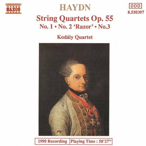 String Quartets Op. 55, Nos. 1-3 by Franz Joseph Haydn