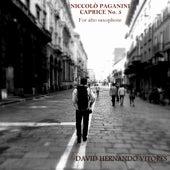 Niccolò Paganini: Caprice No. 5 for Alto Saxophone by David Hernando Vitores