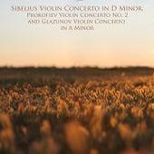 Sibelius Violin Concerto in D Minor, Prokofiev Violin Concerto No. 2 and Glazunov Violin Concerto in A Minor von Various Artists