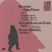 Brahms: Five Trios, Volume II by Golub Kaplan Carr Trio