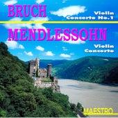 Brach: Violin Concerto No. 1 In G Minor - Mendelssohn: Violin Concerto In E Minor, Op. 64 by S. Milenkovic