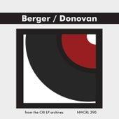 Arthur Berger & Richard Donovan: Chamber Works by Various Artists