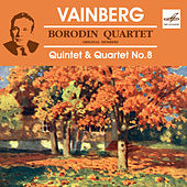 Borodin Quartet Performs Quintet & Quartet No. 8 by Moysey Vainberg