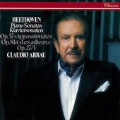 Beethoven: Piano Sonatas Nos. 13, 23 & 26 von Claudio Arrau