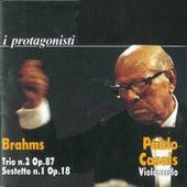 Brahms: Piano Trio No. 2 - String Sextet No. 1 by Yehudi Menuhin