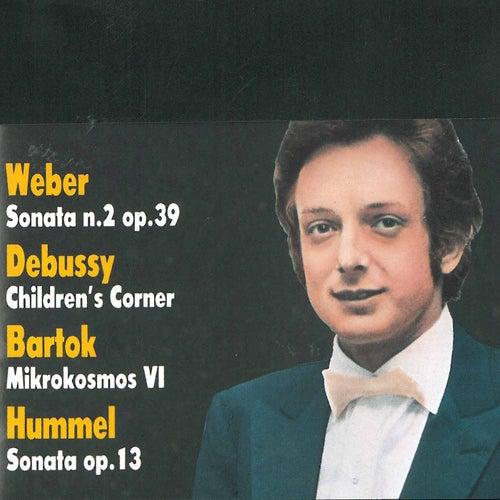Weber, Debussy, Bartok & Hummel: Pezzi per piano solo de Dino Ciani