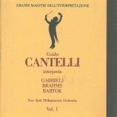 Grandi maestri dell'interpretazione: Guido Cantelli interpreta Gabrieli, Brahms and Bartok von New York Philharmonic