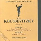 Grandi maestri dell'interpretazione: Koussevitzky interpreta Bartók & Brahms von Boston Symphony Orchestra