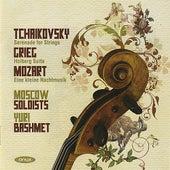 Tchaikovsky: Serenade for Strings - Grieg: Holberg Suite - Mozart: Eine kleine Nachtmusik di Moscow Soloists