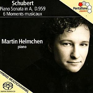 SCHUBERT, F.: Piano Sonata No. 20, D. 959 / 6 Moments musicaux, D. 780 (M. Helmchen) by Martin Helmchen
