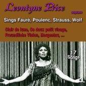 Leontyne Price Sings Fauré, Poulenc, Strauss & Wolf de Leontyne Price