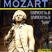 Mozart: Symphonies No 40 and 41,