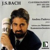 J.S. Bach: Clavierkonzerte, BWV 1053, 1056, 1058 and 1059 by Andrea Padova