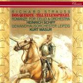 Richard Strauss: Don Quixote; Till Eulenspiegel; Romance For Cello & Orchestra de Kurt Masur