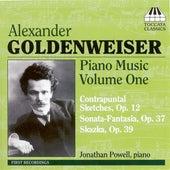 Goldenweiser: Piano Music Volume One by Jonathan Powell