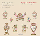Telemann: Chamber Works by Wilbert Hazelzet