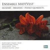Mozart & Brahms: Piano Quartets by Jonathan Slaatto