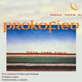 Prokofiev: 5 Concertos for Piano and Orchestra by Viktoria Postnikova