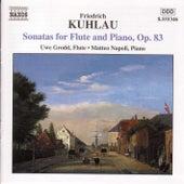 Kuhlau: Flute Sonatas Op. 83 de Friedrich Kuhlau