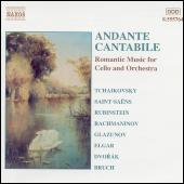 Andante Cantabile: Romantic Music for Cello and Orchestra de Various Artists