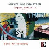 Shostakovich: Complete Piano Music, Vol. 1 by Boris Petrushansky
