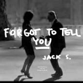 Forgot To Tell You by Jacek Sienkiewicz