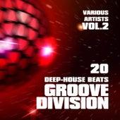 Groove Division (20 Deep-House Beats), Vol. 2 de Various Artists